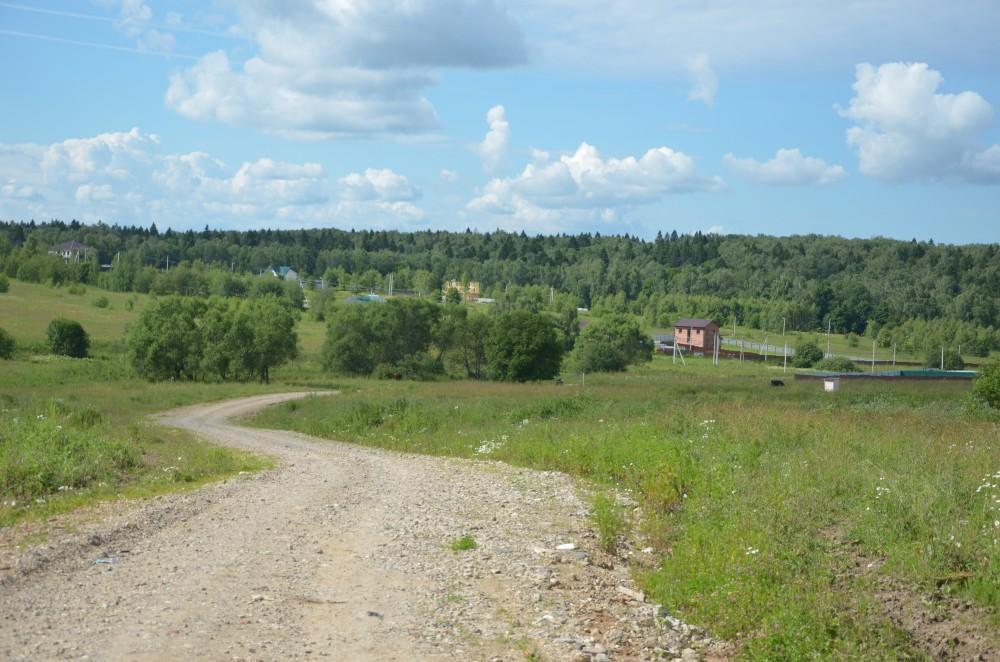 дорога к дачному поселку Шараповское