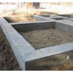 Ленточный фундамент для дачного дома