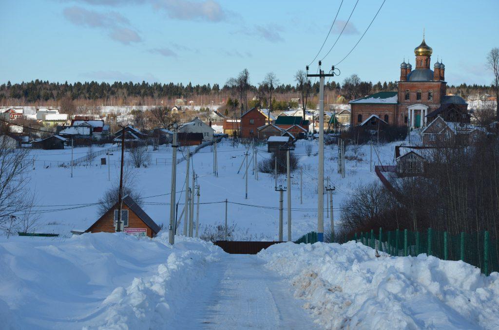 жилой поселок Шараповское продажа участков под строительство