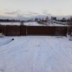 Ворота в дачный поселок в Сегиево посадском районе