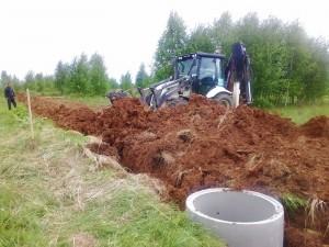 земельный участок с водопроводом и электричеством