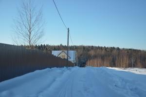 дачный поселок Шараповское Сергиев Посадский район в декабре 2016