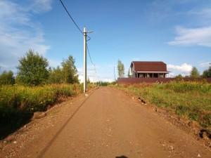 жилой поселок шараповское внутрипоселковые дороги