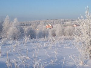 дача с зимним домом